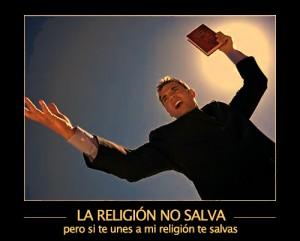 religion no salva